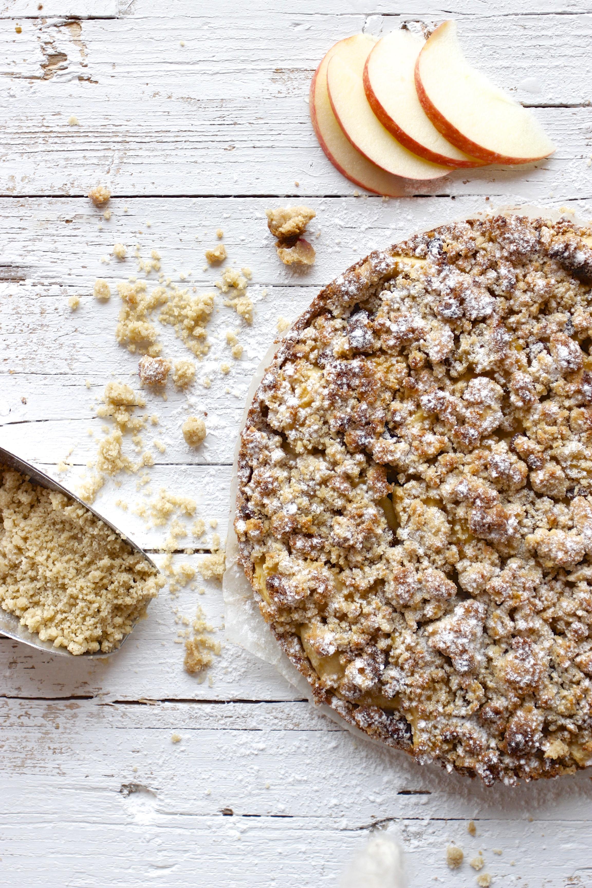 Buchweizen Apfel Streuselkuchen Vegan Ohne Gluten Wie Immer